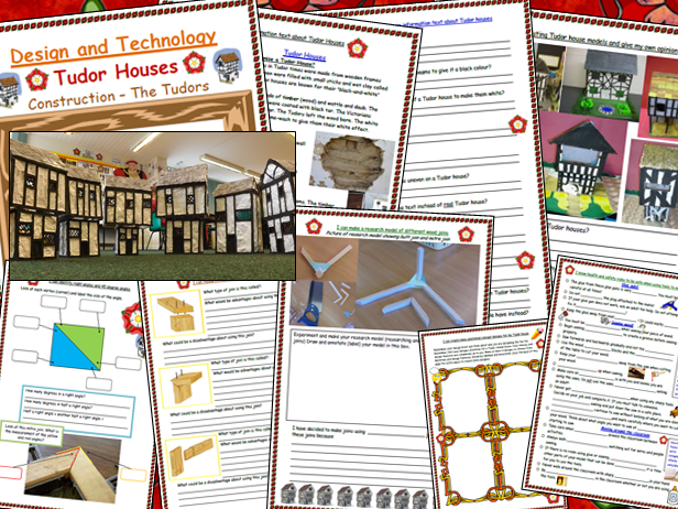 Tudor House Design and Technology Project Booklet Scheme of Work