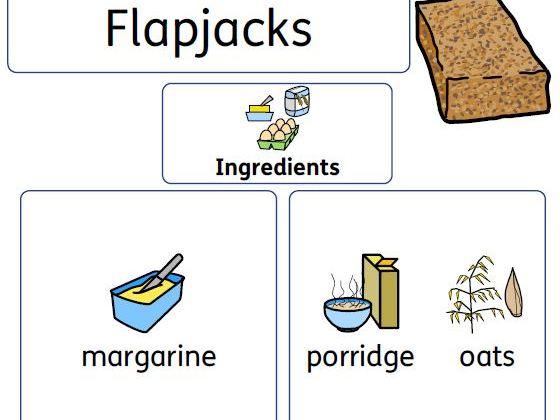 Widgit Flapjack Recipe