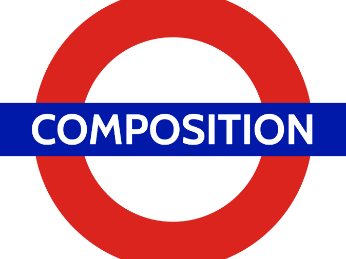 GCSE composition steps by steps tube map