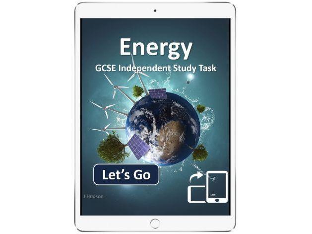 Energy GCSE AQA - interactive eBook independent study