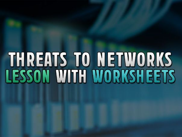 OCR GCSE Computer Science Lesson: Threats Posed to Networks