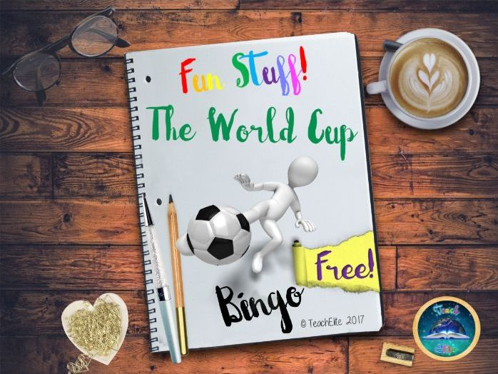World Cup 2018 : Bingo
