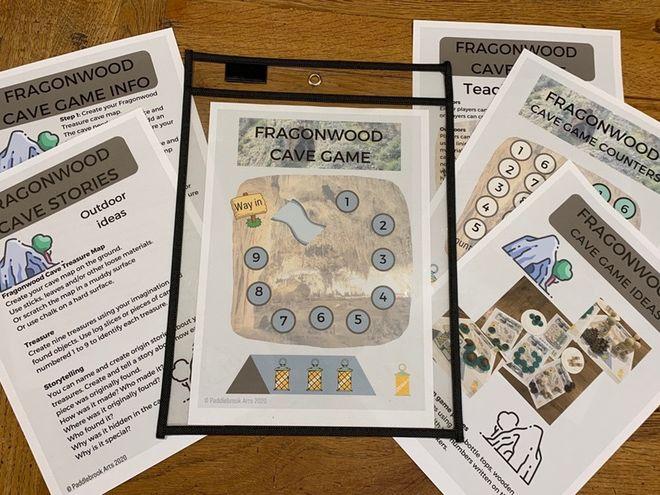 Fragonwood Cave Game - Numeracy and Storytelling