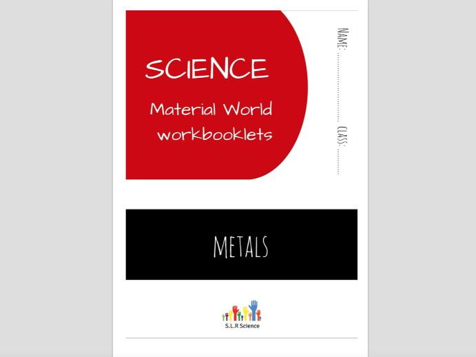 METALS - science workbooklet
