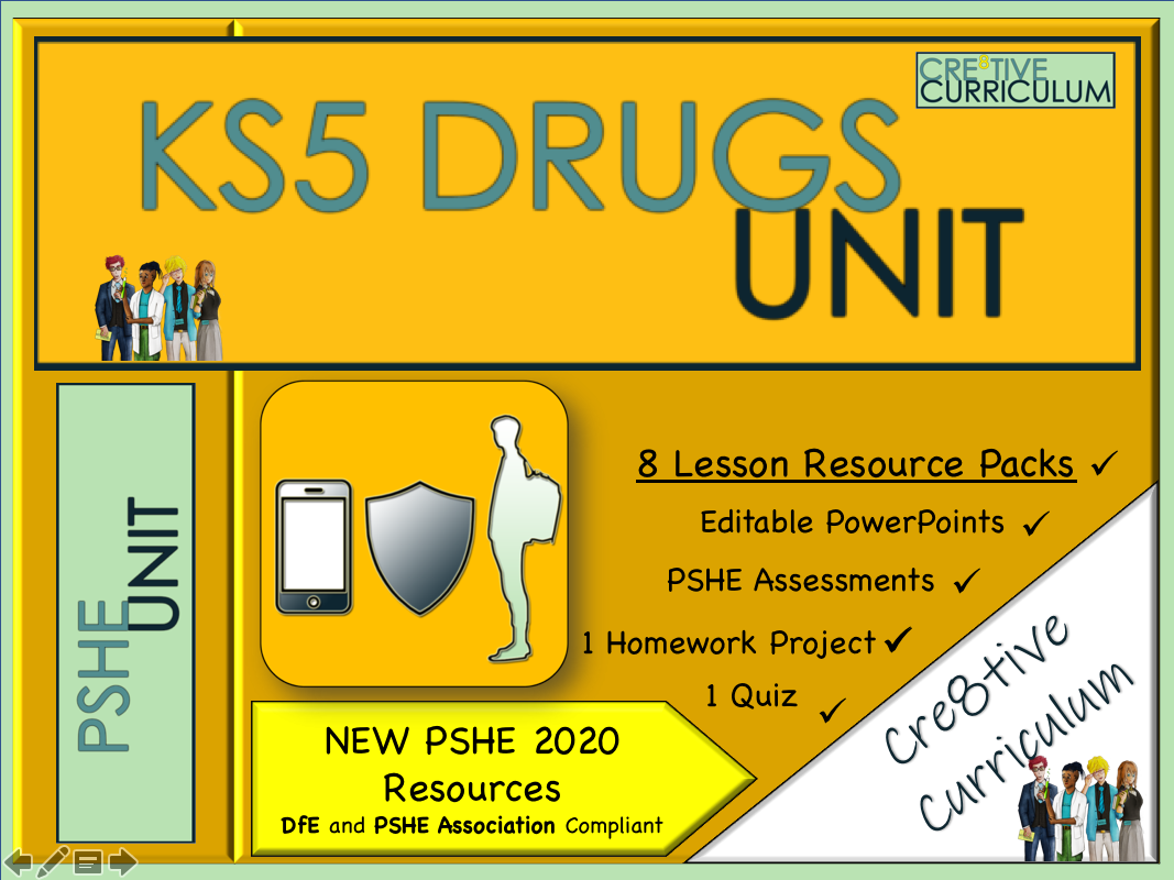 KS5 Drugs Education Unit - PSHE