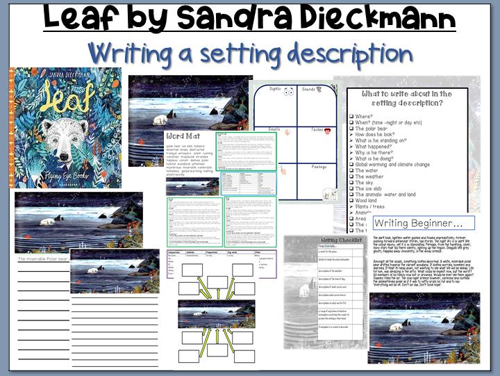 Leaf by Sandra Dieckmann: Setting Description