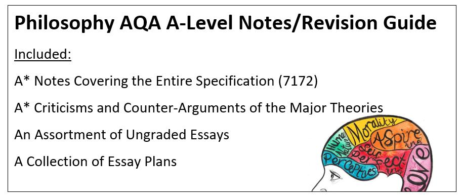 A-Level AQA Philosophy Bundle!