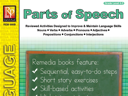 Parts of Speech (Grades 4-5)