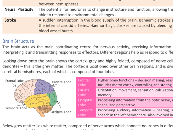 A Level Biology - Edexcel Topic 8 Notes