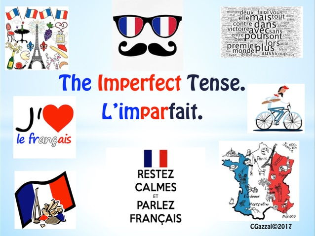 A Complete Guide to the Imperfect Tense/ l'imparfait in French.