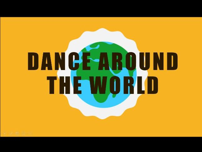Dance around the world Power Point - Aimed at KS3