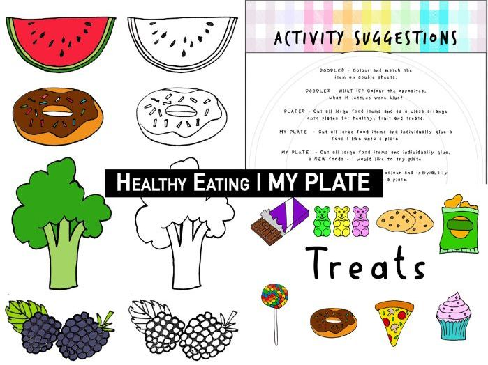 Healthy Eating | EARLY YEARS FOOD | MY PLATE activity