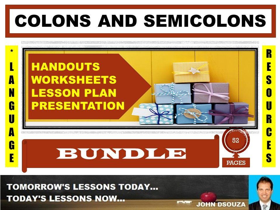 COLON AND SEMICOLON BUNDLE