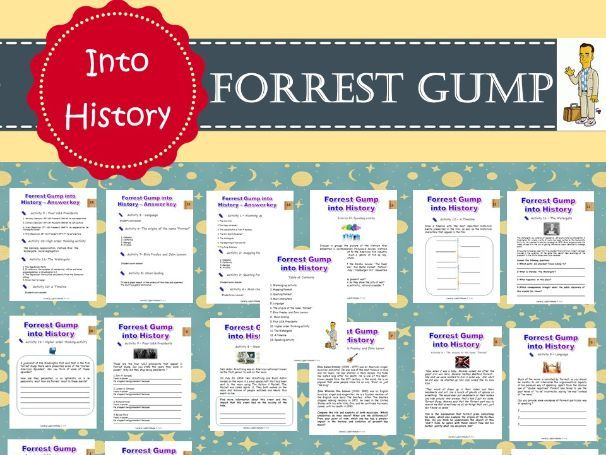Forrest Gump into History