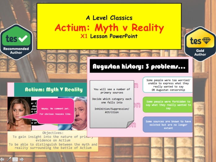 Actium Myth v Reality - A Level Classics