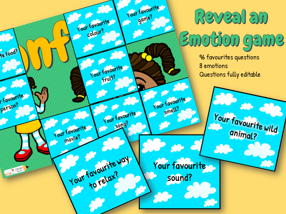 Reveal an emotion PowerPoint game