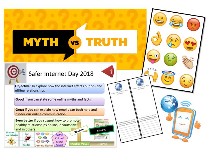 PSHE Lesson: Safer Internet Day 2018
