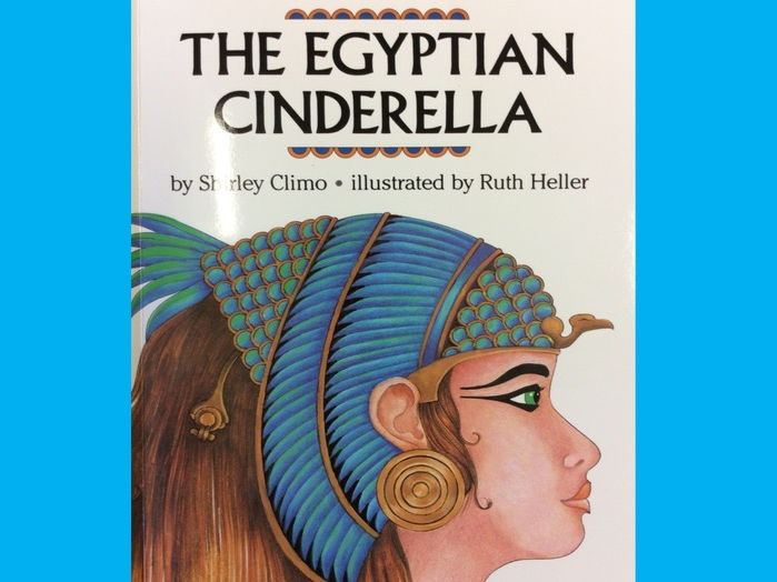 The Egyptian Cinderella Story (Adapted including Widgit CiP symbols)