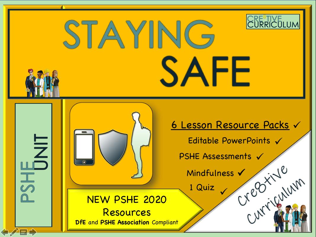 Staying Safe KS4 PSHE Unit