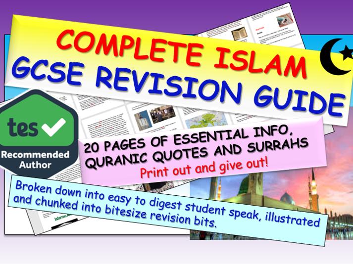 Islam GCSE Revision AQA