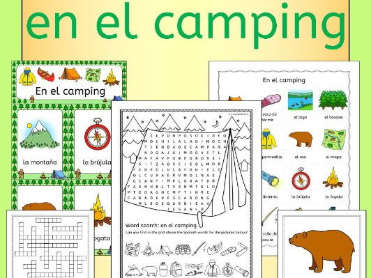 Spanish Camping Summer Resource