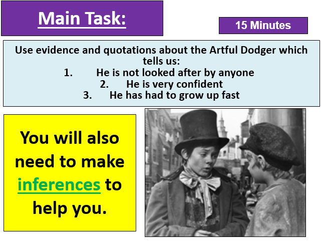 Massive 20+ Lesson Oliver Twist Scheme for Low Level Learners