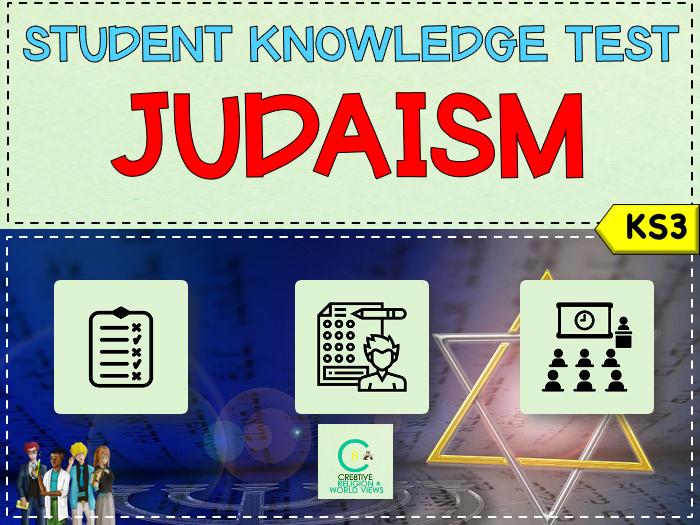 Judaism KS3 Topic Test