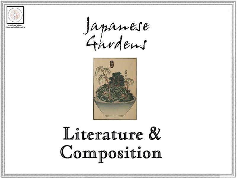 Japanese Gardens Literature & Composition