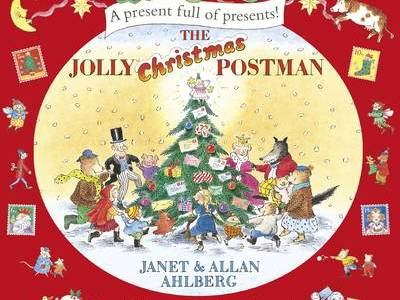 The Jolly Christmas Postman Drawing a Story Map