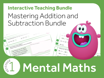 KS1 Mastering Addition and Subtraction Bundle