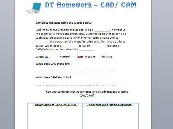 CAD/CAM homework