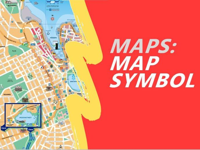 Map Symbols and Keys and how to use them