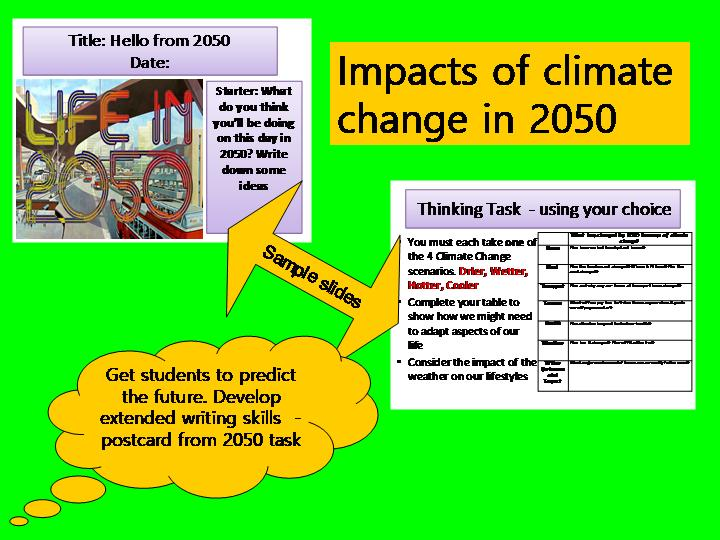 Future Effects of Climate Change