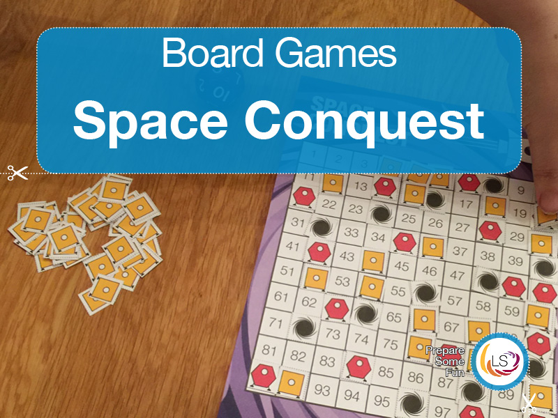 Times Tables Space Conquest | Board Game