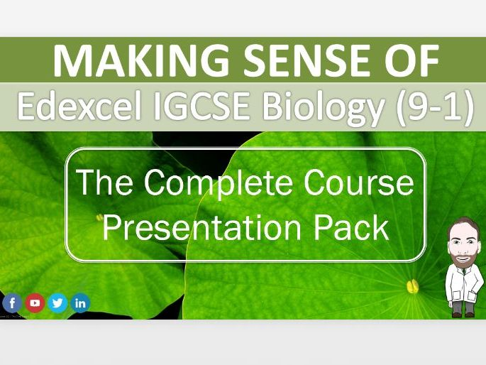 The Ultimate IGCSE Biology 9-1 Presentation