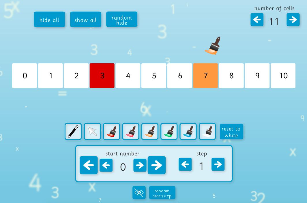 Number Line Interactive Tool - KS1/KS2 Number