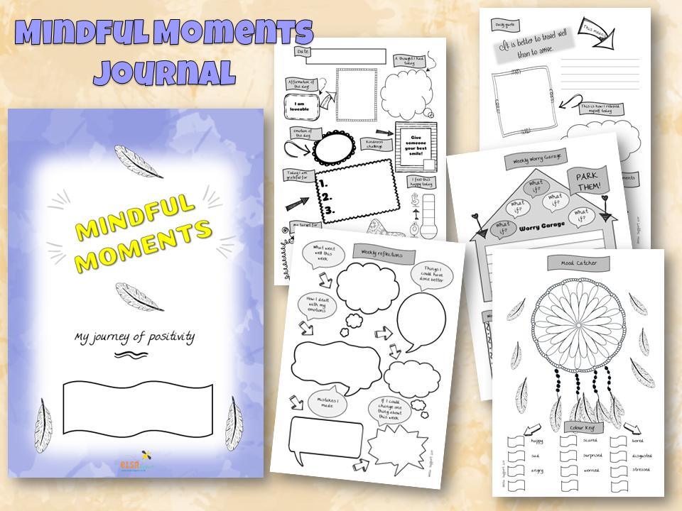 Mindful Moments KS2/3/4 Positives Journal