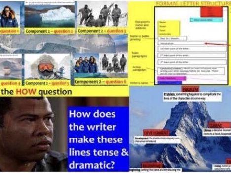 ALL EXAMS revision PowerPoint (679 slides) - EDUQAS GCSE English Language
