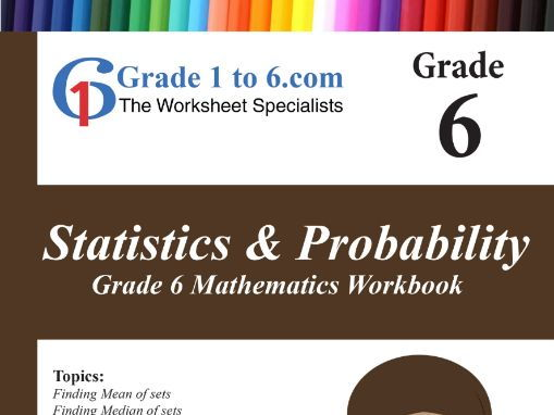 Statistics & Probability  Grade 6 Maths Workbook from www.Grade1to6.com Books
