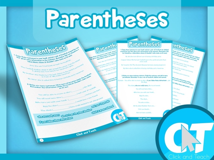 KS2 - Parentheses