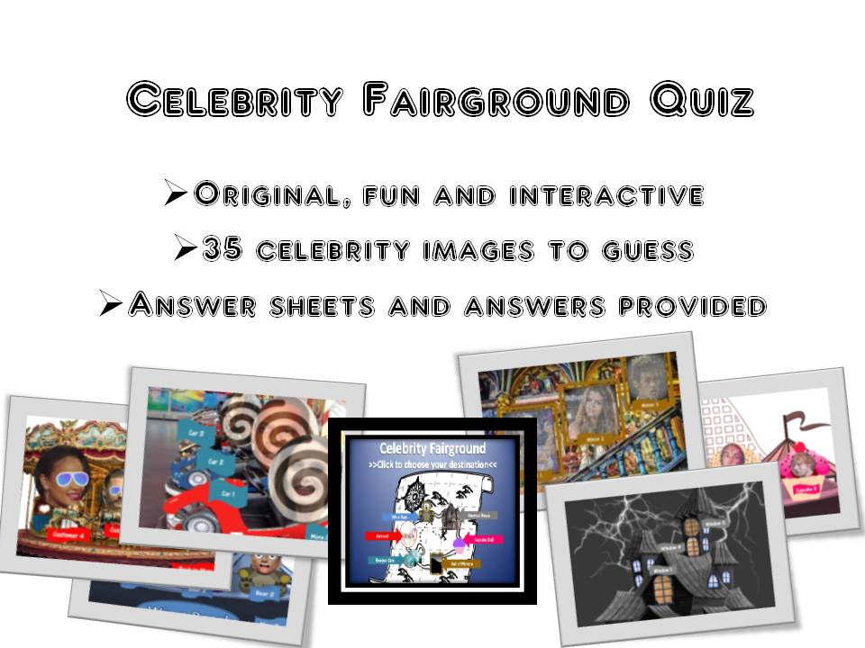 End of Year Celebrity Quiz