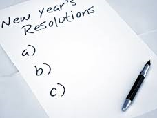 New Years Resolution assembly 2018 - learning to break your resolutions.