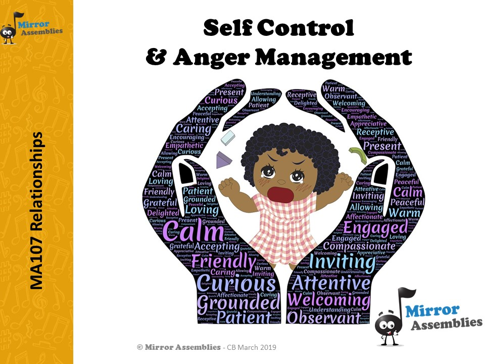 Self-Control & Anger Management - suitable for Lower Primary age range