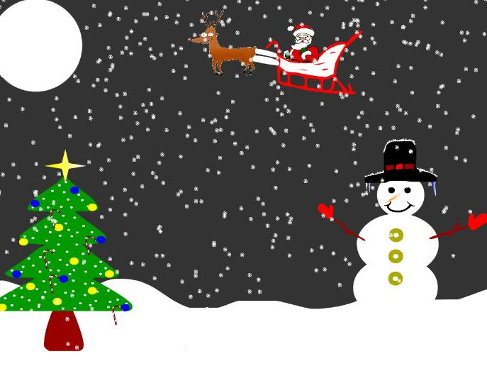 Flash Animation - Christmas Graphics
