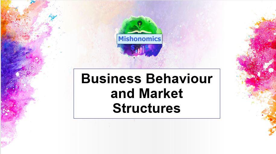Market Structure Bundle