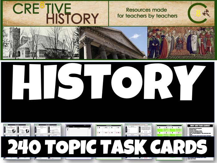 History KS3 Revision Bundle