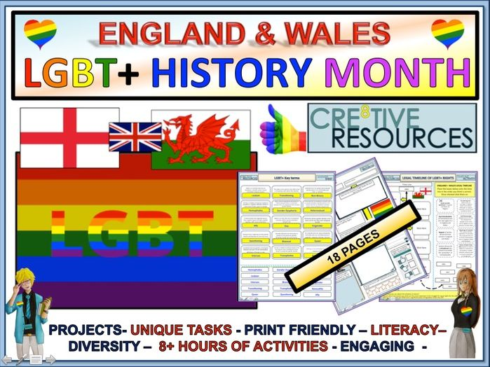 LGBT+ Month 2019 : England And Wales