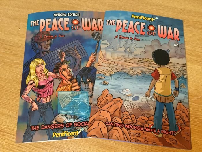 Educational Comic books Hardcopies