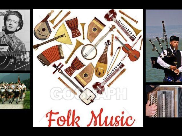 Folk Music - Sea Shanties & Irish Traditional Music Slides & Tasks
