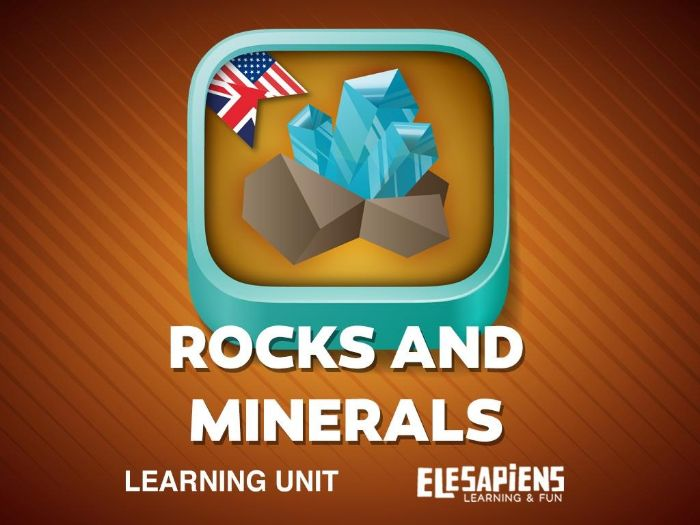 Rocks and Minerals Lesson Plan for Primary students